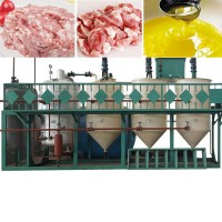 Линия для вытопки и переработки животного жира, сала в пищевой, технический и кормовой жир