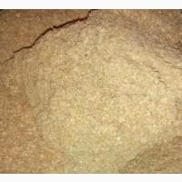 Отруби пшеничные. Ячмень и пшеница в мешках
